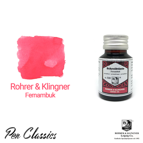 Rohrer & Klingner Fernambuk Ink Bottle and Swab