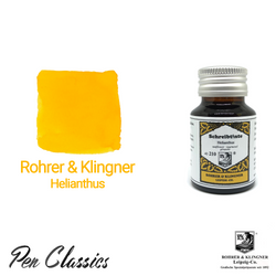Rohrer & Klingner Helianthus Ink Bottle and Swab