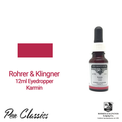 Rohrer & Klingner Karmin 12ml Eyedropper Bottle and Swab