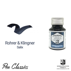 Rohrer & Klingner Salix Iron-Gall Ink Bottle and Swab