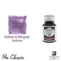 Rohrer & Klingner Scabiosa Iron-Gall Ink Bottle and Swab