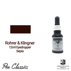 Rohrer & Klingner Sepia 12ml Eyedropper Bottle and Swab