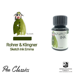 Rohrer & Klingner sketchINK Emma Ink Drawing, Swab and Bottle