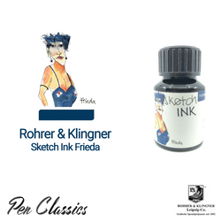 Rohrer & Klingner sketchINK Frieda Ink Drawing, Swab and Bottle
