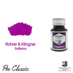 Rohrer & Klingner Solferino Ink Bottle and Swab