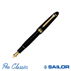 Sailor 1911 Classic Black with Gold Trim