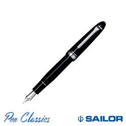 Sailor 1911 Classic Black with Rhodium Trim