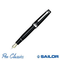 Sailor Professional Gear Black with Rhodium Trim