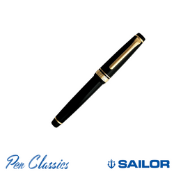 Sailor Professional Gear Slim Black with Gold Trim