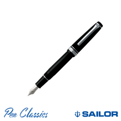 Sailor Professional Gear Slim Black with Rhodium Trim