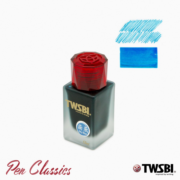 TWSBI 1791 Sky Blue 18ml Ink Bottle