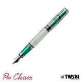TWSBI 580AL Emerald Green Cap Off