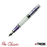 TWSBI 580AL R Purple Cap Off