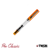 TWSBI Eco Transparent Orange Cap On