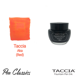 Taccia Aka (Red) 40ml Ink Bottle