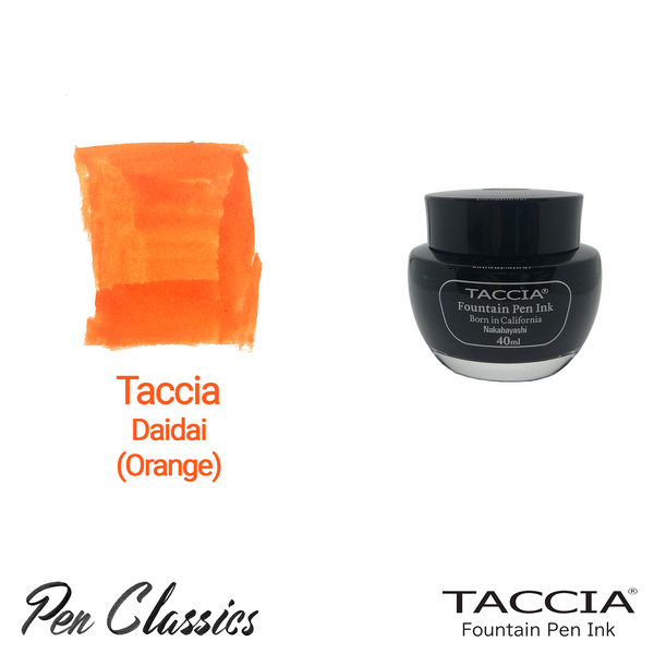 Taccia Daidai (Orange) 40ml Ink Bottle