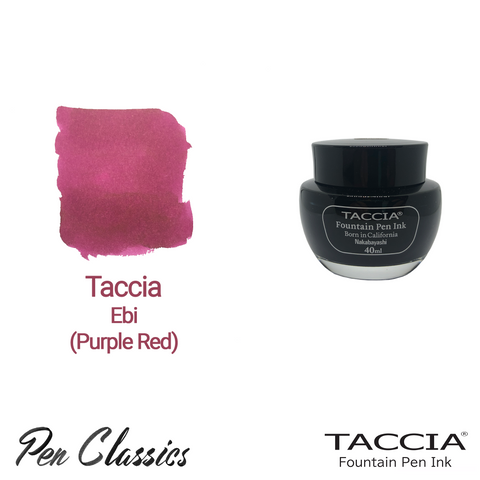Taccia Ebi (Purple Red) 40ml Ink Bottle