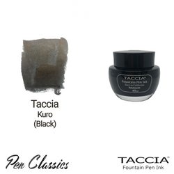 Taccia Kuro (Black) 40ml Ink Bottle
