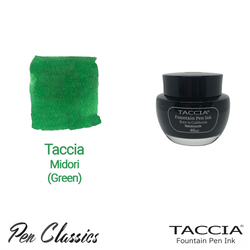 Taccia Midori (Green) 40ml Ink Bottle