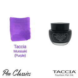 Taccia Murasaki (Purple) 40ml Ink Bottle