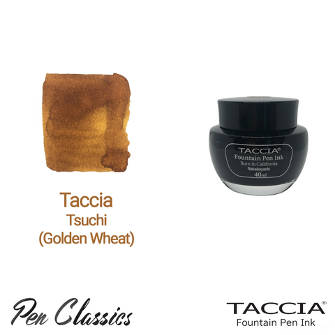 Taccia Tsuchi (Golden Wheat) 40ml Ink Bottle