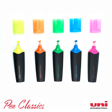 Uni Promark View 5 Pack