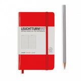 Leuchtturm 1917 Pocket Lined - Red