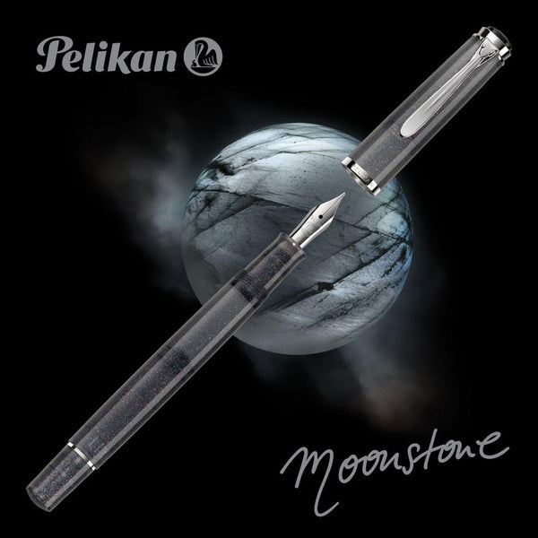 Pelikan Souverän M205 Fountain Pen Moonstone Set