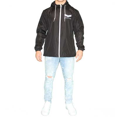 Vector Wrestling Wind Breaker - Black/White