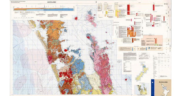 Waterproof GNS Geological Maps