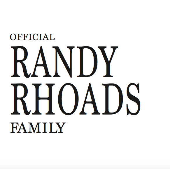 Official Randy Rhoads Family