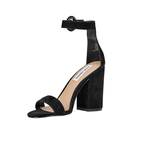 Steve Madden  Black Suede Sandals