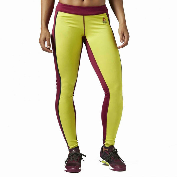 Reebok Crossfit Reversible Gymnastik Yoga Enge Leggings