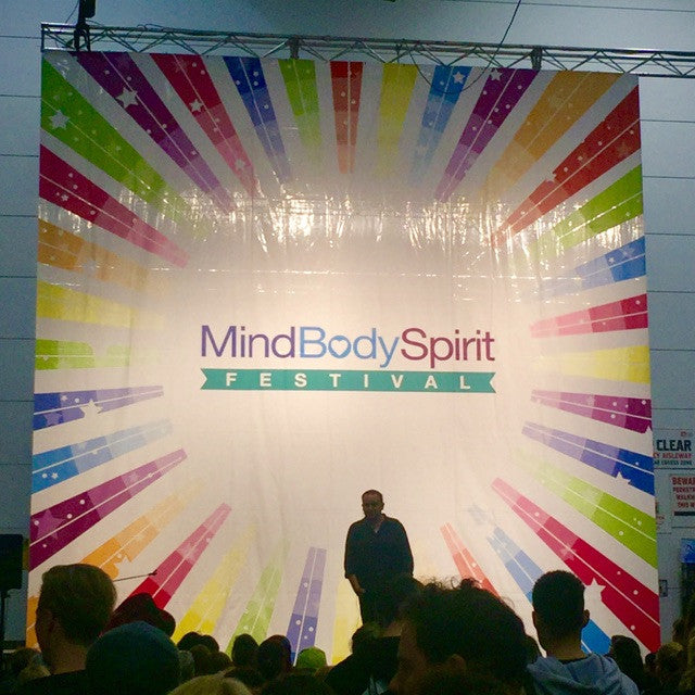 Awesome time at the MindBodySpirit Festival!