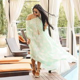 Hawaii Hottie 100% pure silk Kaftan - Beonlynatural.myshopify.com