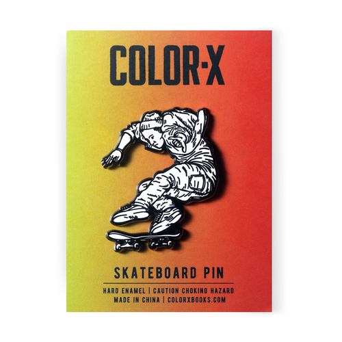 Skateboard Lapel Pin