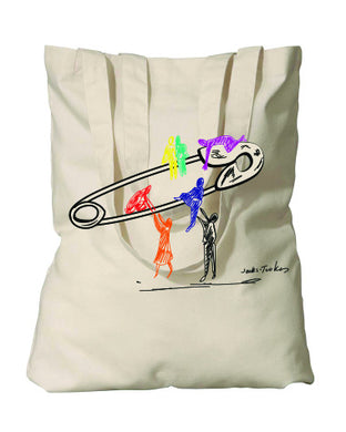 HRC safety lift tote benefiting Earthworks (natural)