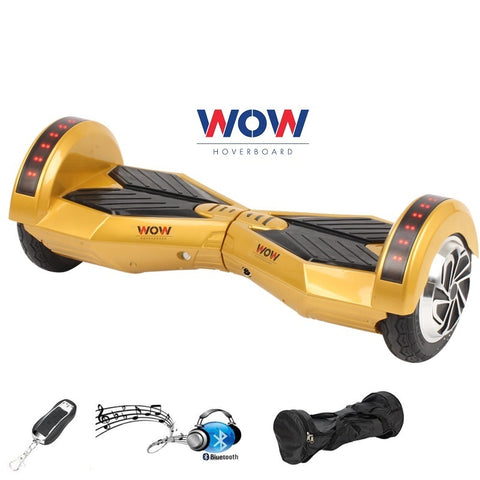 Lamborgini Hoverboard Gold color with lights Bluetooth speaker In US, Canada - Best Hoverboards in Canada