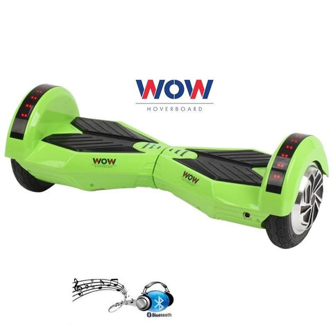 Green Lamborgini Hoverboard Bluetooth speaker, LED lights In US, Canada--8 Inch