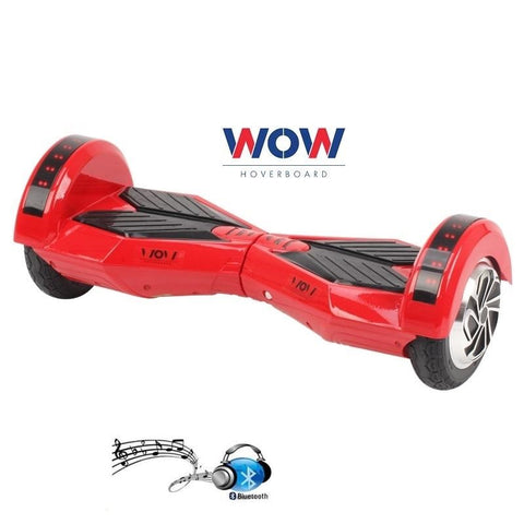 Red Lamborgini Hoverboard Bluetooth speaker, LED lights In Canada