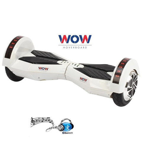 "White Lamborgini Hoverboard Self Balacing Scooter 8"" Inch -- White Color"