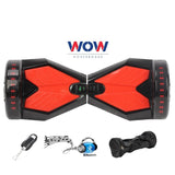 Hoverboard Black Lamborgini Bluetooth speaker, LED lights In Canada--8 Inch - Best Hoverboards in Canada