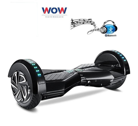 "Lamborgini Hoverboard 8"" Inch Wheel -- Black Color Black Pad"