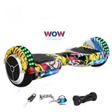 "LED Hoverboard 7"" Inches -- Hip Pop Color - Best Hoverboards in Canada"