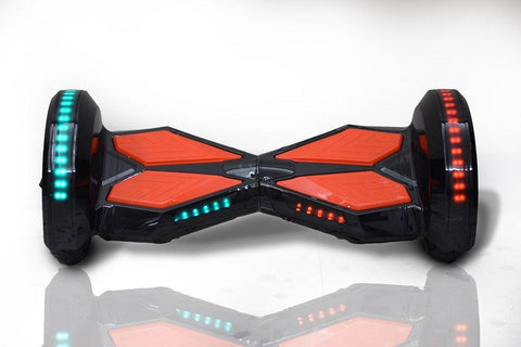 Lamborgini Hoverboard 10 Inch -- Black Color Red Pad - Best Hoverboards in Canada