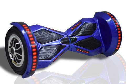 Lamborgini Hoverboard 10 Inch -- Blue Color - Best Hoverboards in Canada