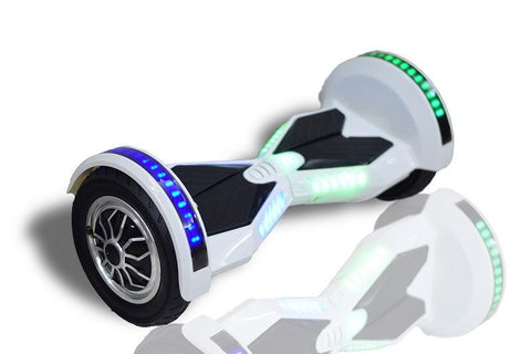 "Lamborgini Hoverboard 10"" Inches -- White Color - Best Hoverboards in Canada"