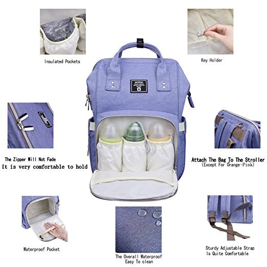 Baby Diaper Bag (Waterproof)