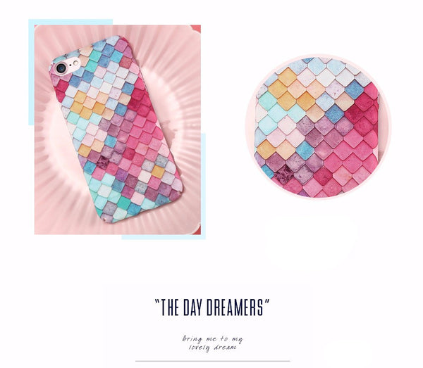 Mermaid 3D Skin case for iPhones