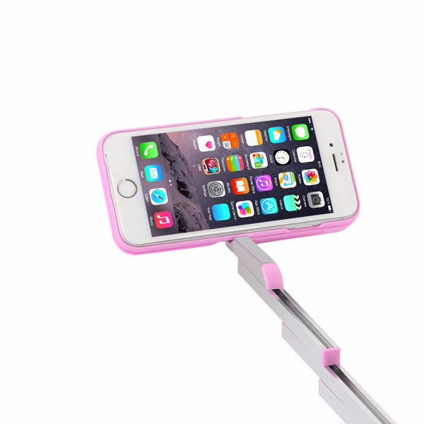 Luxury 3 in 1 Selfie Stick Case for iPhone 7 Plus/7/6s Plus/6s/6 with Bluetooth Remote Control